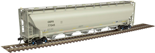 ATLAS 20005175 Trinity 5660 Covered Hopper - CEFX #77214 HO Scale