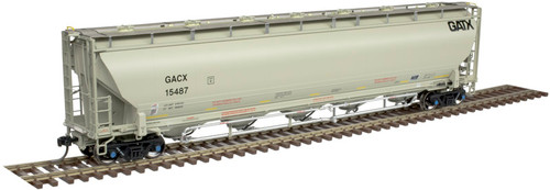 ATLAS 20005183 Trinity 5660 Covered Hopper - General American (GATX) #15487 HO Scale