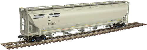 ATLAS 20005194 Trinity 5660 Covered Hopper - Norfolk Southern (NS) #292260 HO Scale
