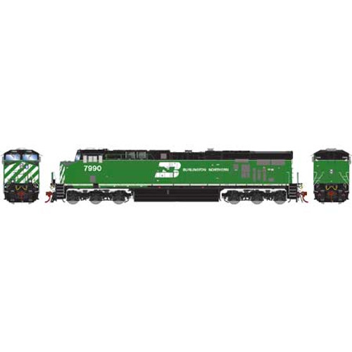 Athearn ATHG83159 GE ES44AC BN #7990 with DCC & Sound Tsunami2  HO Scale