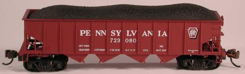 Bowser 38046 - H21a 4 Bay Hopper - PRR Shadow Keystone #137917