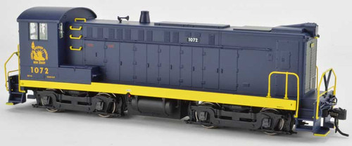 Bowser 24777 DS 4-4-1000 CNJ Central New Jersey Blue & Yellow 1968 era #1072 HO Scale