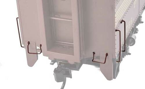 252 Diesel Detail Kit -- Alco PA-PB (SCALE=HO)  Part # 910-252