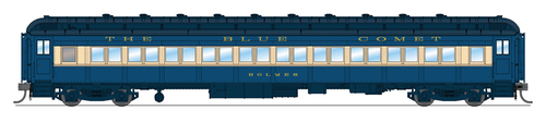 BLI 6439 CNJ 80' Passenger Coach, Blue Comet, Single Car, HO (Fantasy Paint Scheme)  HO Scale