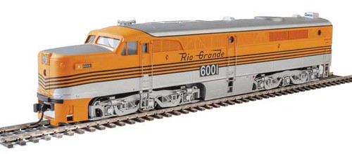 Walthers 10091 ALCO PA/PB - D&RGW - Denver & Rio Grande Western #6001 & 6002 - DCC Ready HO Scale