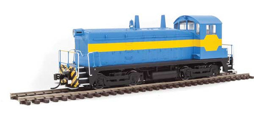 Walthers 20610 EMD NW2 PH V Unlettered (Blue with Yellow Stripe) - DCC & Sound HO Scale