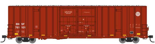 Walthers 910-2958 60' High Cube Plate F Boxcar BNSF #761101 HO Scale