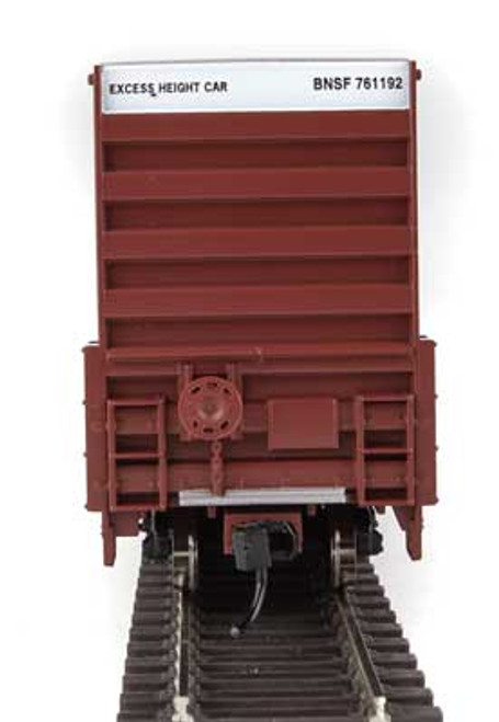 Walthers 910-2959 60' High Cube Plate F Boxcar BNSF #761192 HO Scale
