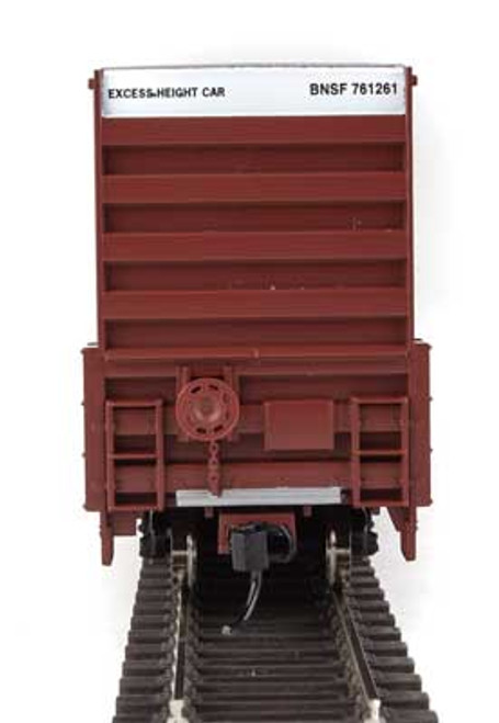 Walthers 910-2960 60' High Cube Plate F Boxcar BNSF #761261 HO Scale