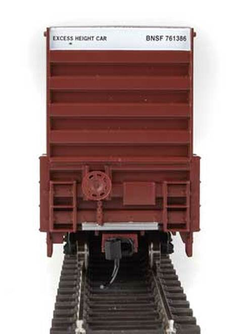 Walthers 910-2961 60' High Cube Plate F Boxcar BNSF #761386 HO Scale