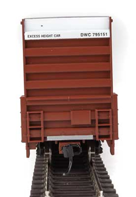 Walthers 910-2964 60' High Cube Plate F Boxcar CN - Canadian National #795151 HO Scale