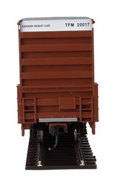 Walthers 910-2966 60' High Cube Plate F Boxcar TFM - Transportacion Ferroviaria de Mexico #20017 HO Scale