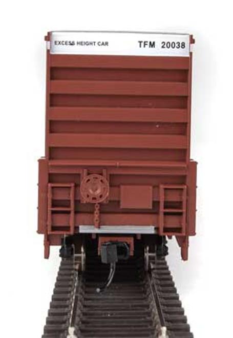 Walthers 910-2967 60' High Cube Plate F Boxcar TFM - Transportacion Ferroviaria de Mexico #20038 HO Scale