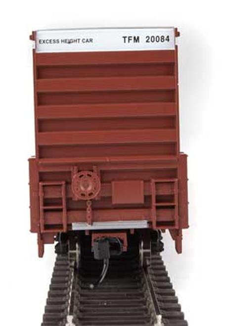 Walthers 910-2968 60' High Cube Plate F Boxcar TFM - Transportacion Ferroviaria de Mexico #20084 HO Scale