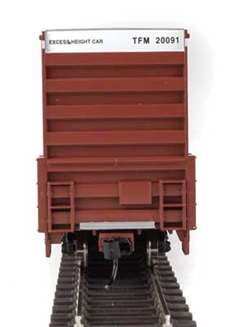 Walthers 910-2969 60' High Cube Plate F Boxcar TFM - Transportacion Ferroviaria de Mexico #20091 HO Scale