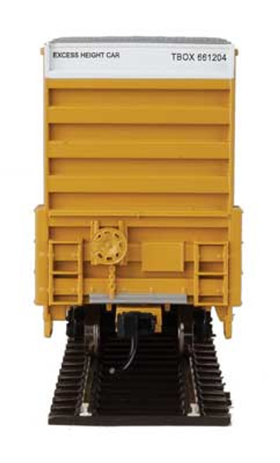 Walthers 910-2970 60' High Cube Plate F Boxcar TTX - TBOX #661204 HO Scale