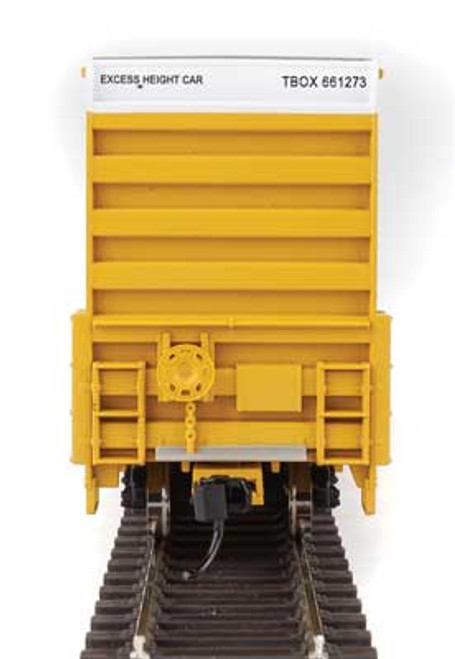 Walthers 910-2972 60' High Cube Plate F Boxcar TTX - TBOX #661273 HO Scale