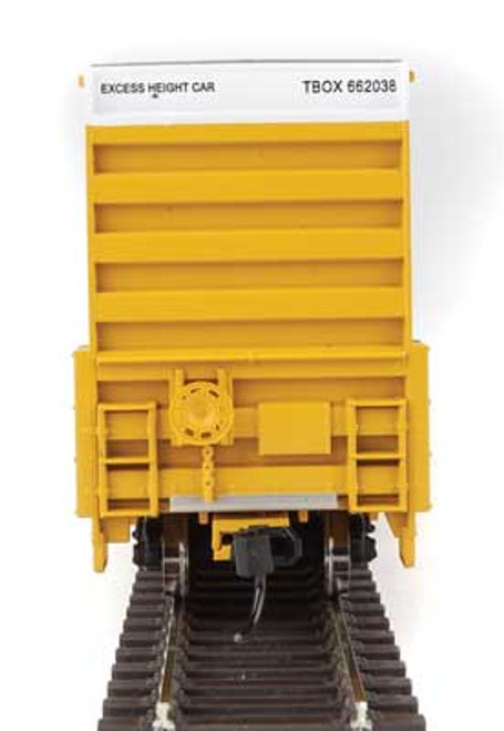 Walthers 910-2973 60' High Cube Plate F Boxcar TTX - TBOX #662038 HO Scale