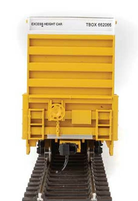 Walthers 910-2974 60' High Cube Plate F Boxcar TTX - TBOX #662066 HO Scale