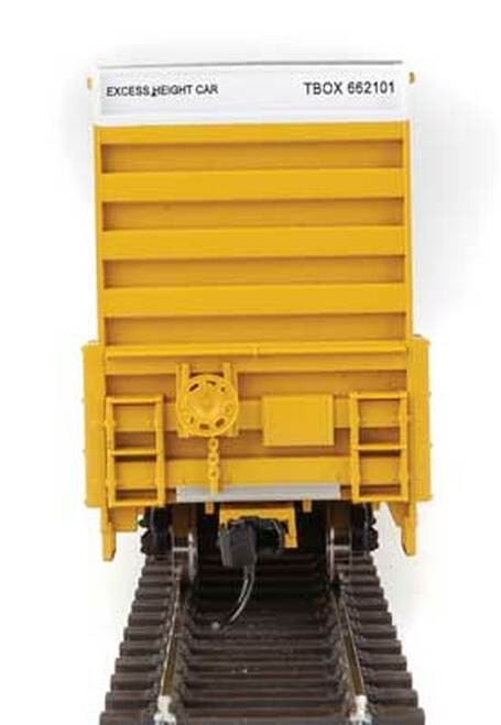 Walthers 910-2976 60' High Cube Plate F Boxcar TTX - TBOX #661210 HO Scale