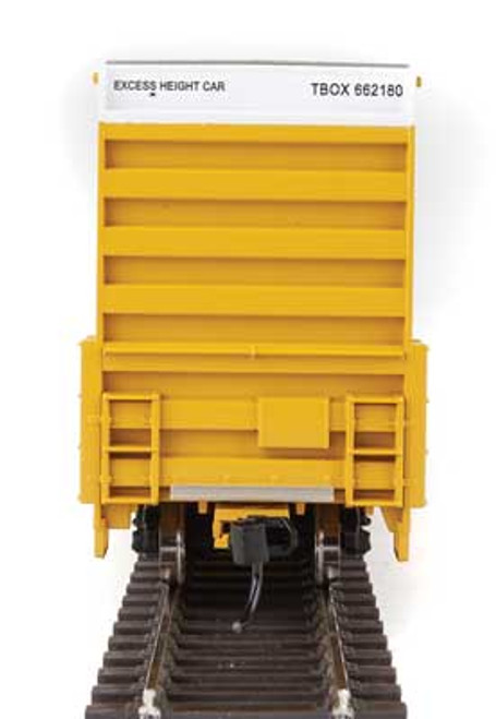 Walthers 910-2977 60' High Cube Plate F Boxcar TTX - TBOX #662180 HO Scale