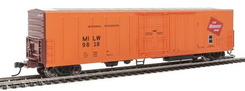 Walthers 910-3931 57' Mechanical Reefer MILW - Milwaukee Road #9818 HO Scale