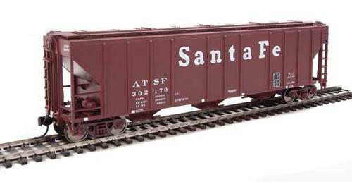 Walthers 910-7451 PS 4427 Covered Hopper ATSF - Santa Fe #302170 HO Scale