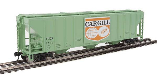 Walthers 910-7455 PS 4427 Covered Hopper TLDX - Cargill #2512 HO Scale