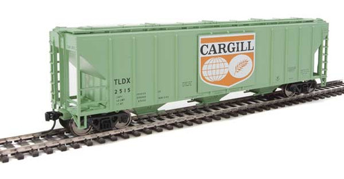 Walthers 910-7456 PS 4427 Covered Hopper TLDX - Cargill #2515 HO Scale