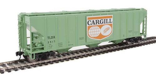 Walthers 910-7457 PS 4427 Covered Hopper TLDX - Cargill #2517 HO Scale