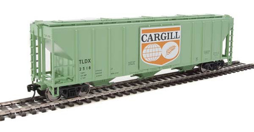 Walthers 910-7458 PS 4427 Covered Hopper TLDX - Cargill #2518 HO Scale