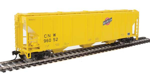 Walthers 910-7459 PS 4427 Covered Hopper CNW - Chicago Northwestern #96052 HO Scale