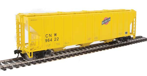 Walthers 910-7462 PS 4427 Covered Hopper CNW - Chicago Northwestern #96422 HO Scale