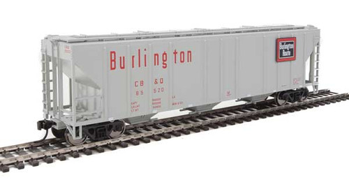 Walthers 910-7463 PS 4427 Covered Hopper CB&Q - Burlington Route #85520 HO Scale
