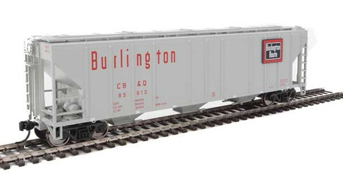 Walthers 910-7465 PS 4427 Covered Hopper CB&Q - Burlington Route #85610 HO Scale