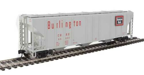 Walthers 910-7466 PS 4427 Covered Hopper CB&Q - Burlington Route #85632 HO Scale