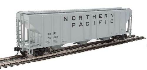Walthers 910-7471 PS 4427 Covered Hopper NP _ Northern Pacific #76266 HO Scale