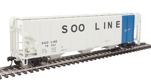 Walthers 910-7475 PS 4427 Covered Hopper Soo - Soo Line #70182 HO Scale