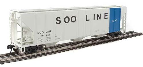 Walthers 910-7476 PS 4427 Covered Hopper Soo - Soo Line #70231 HO Scale