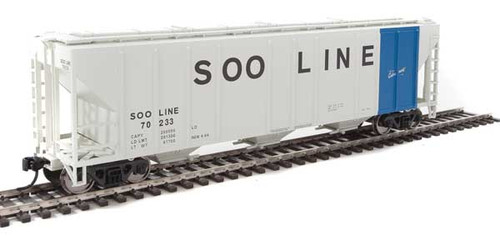 Walthers 910-7477 PS 4427 Covered Hopper Soo - Soo Line #70233 HO Scale