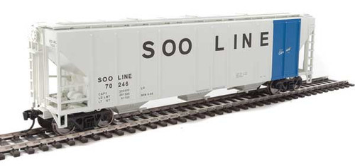 Walthers 910-7478 PS 4427 Covered Hopper Soo - Soo Line #70246 HO Scale