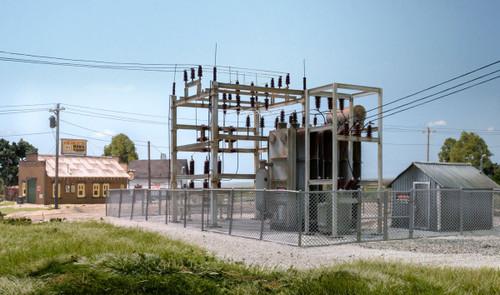Woodland Scenics 2253 Utility System Substation N Scale