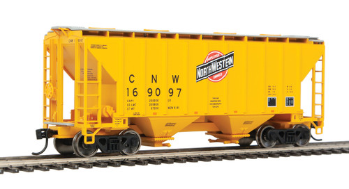 Walthers 910-7954 37' Covered Hopper CNW - Chicago Northwestern #169097 HO Scale