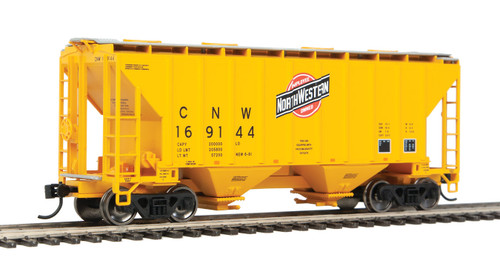 Walthers 910-7955 37' Covered Hopper CNW - Chicago Northwestern #169144 HO Scale