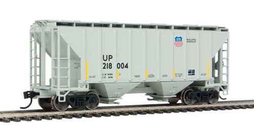 Walthers 910-7966 37' Covered Hopper UP - Union Pacific #218004 HO Scale