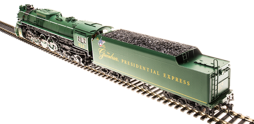 BLI 4909 J3a 4-8-4 Greenbrier Presidential Express #614 Broadway Limited HO Scale