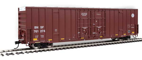 Walthers 910-2984 60' High Cube Plate F Boxcar BNSF #761274 HO Scale