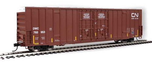 Walthers 910-2986 60' High Cube Plate F Boxcar DWC - CN Canadian National #793953 HO Scale