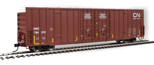 Walthers 910-2987 60' High Cube Plate F Boxcar DWC - CN Canadian National #794012 HO Scale