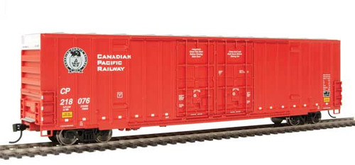 Walthers 910-2990 60' High Cube Plate F Boxcar CP Canadian Pacific #218076 HO Scale